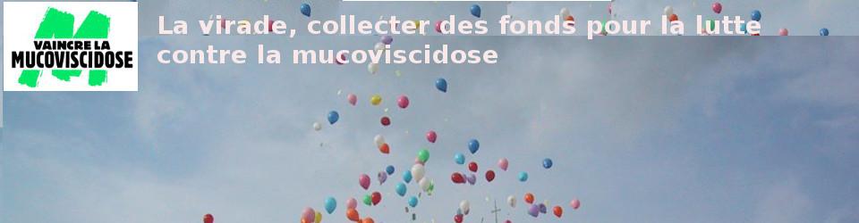 Virade de l'espoir, à Jonzieux, Loire,  pour Vaincre la mucoviscidose